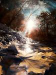 Autumn Sun by JustOldPurpleAngel
