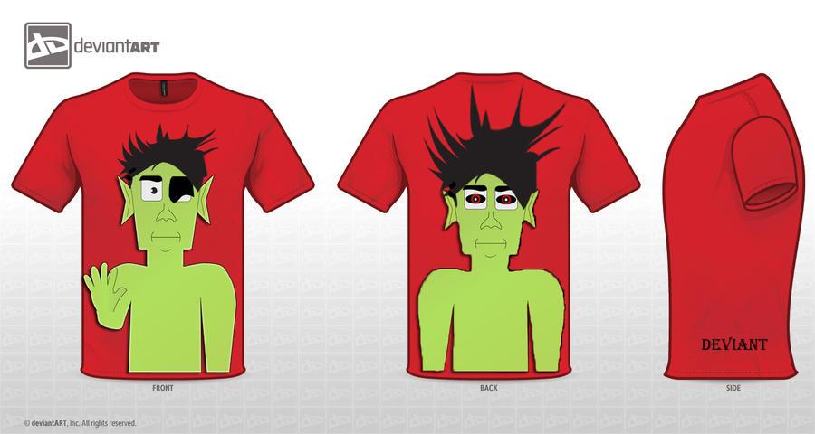 Cute Monster Shirt by TripleXPlaya