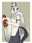 Yunara Mononoke (secret art trade) by XxAyuChuxX