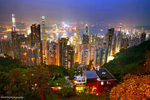 Goodnight Hong Kong by evenliu
