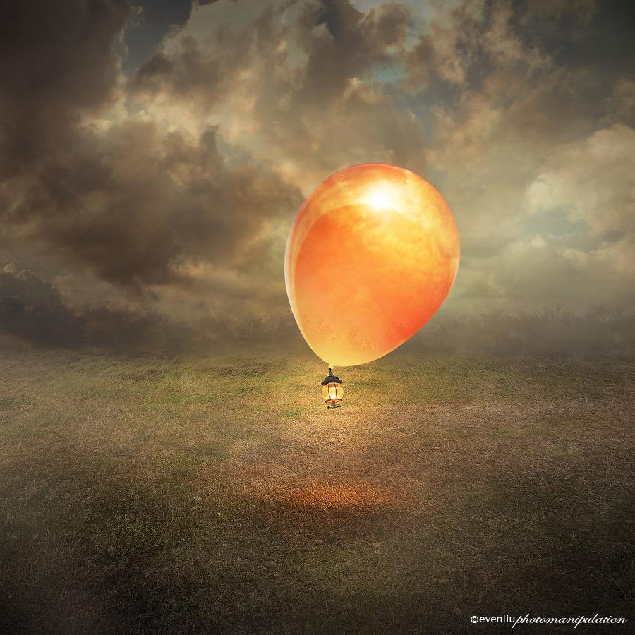 balloon by evenliu