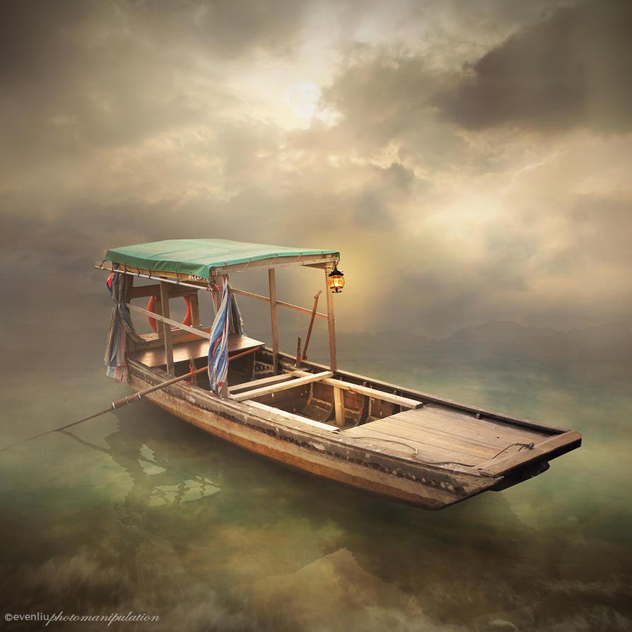 Les poissons baisent dedans  Greenboat_small_by_evenliu-d6o9hdo