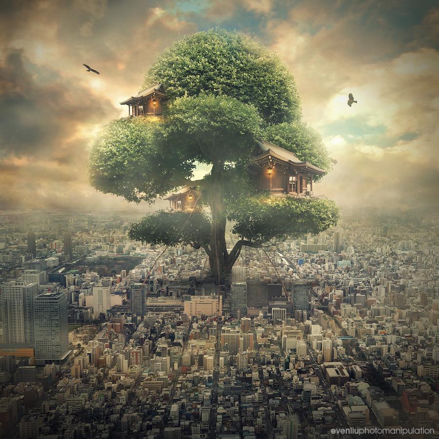 tree house by evenliu
