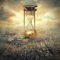 hourglass by evenliu