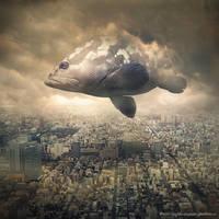 sky traveler by evenliu