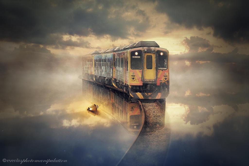 the train by evenliu
