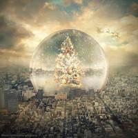 snow globe by evenliu