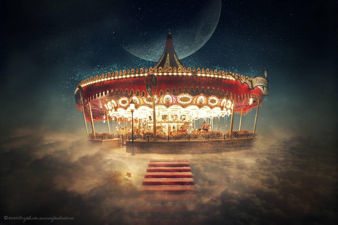 sky carousel by evenliu