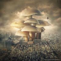 mushroom by evenliu