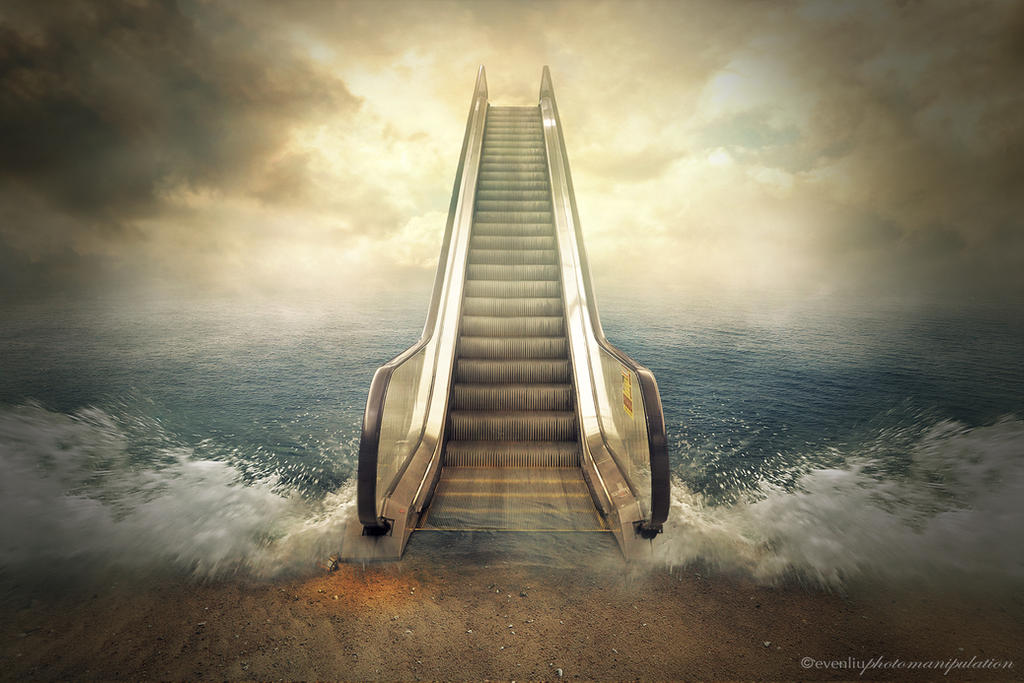escalator by evenliu