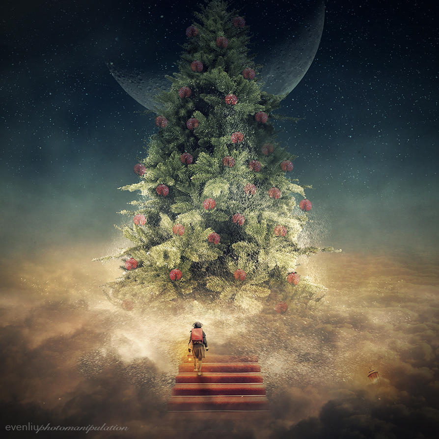 christmas tree by evenliu
