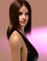 Pippa's Portrait by AS-Dimension-Z