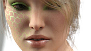 Another Test with Face Makeup by AS-Dimension-Z