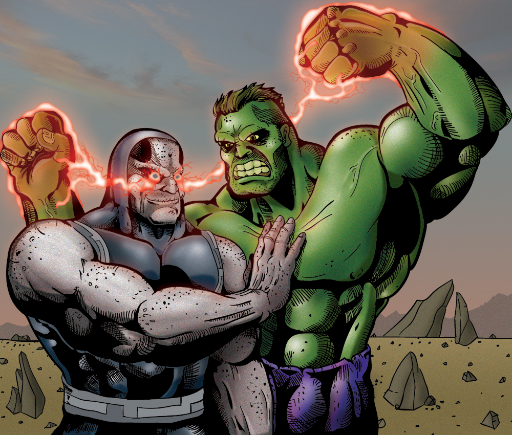 Darkseid vs  Hulk  crossover by lvetHulk Vs Darkseid