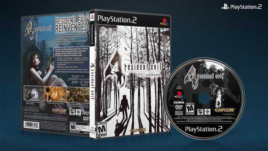 Resident Evil 4 Ps2 Dvd Cover 02 By Xovyant On Deviantart