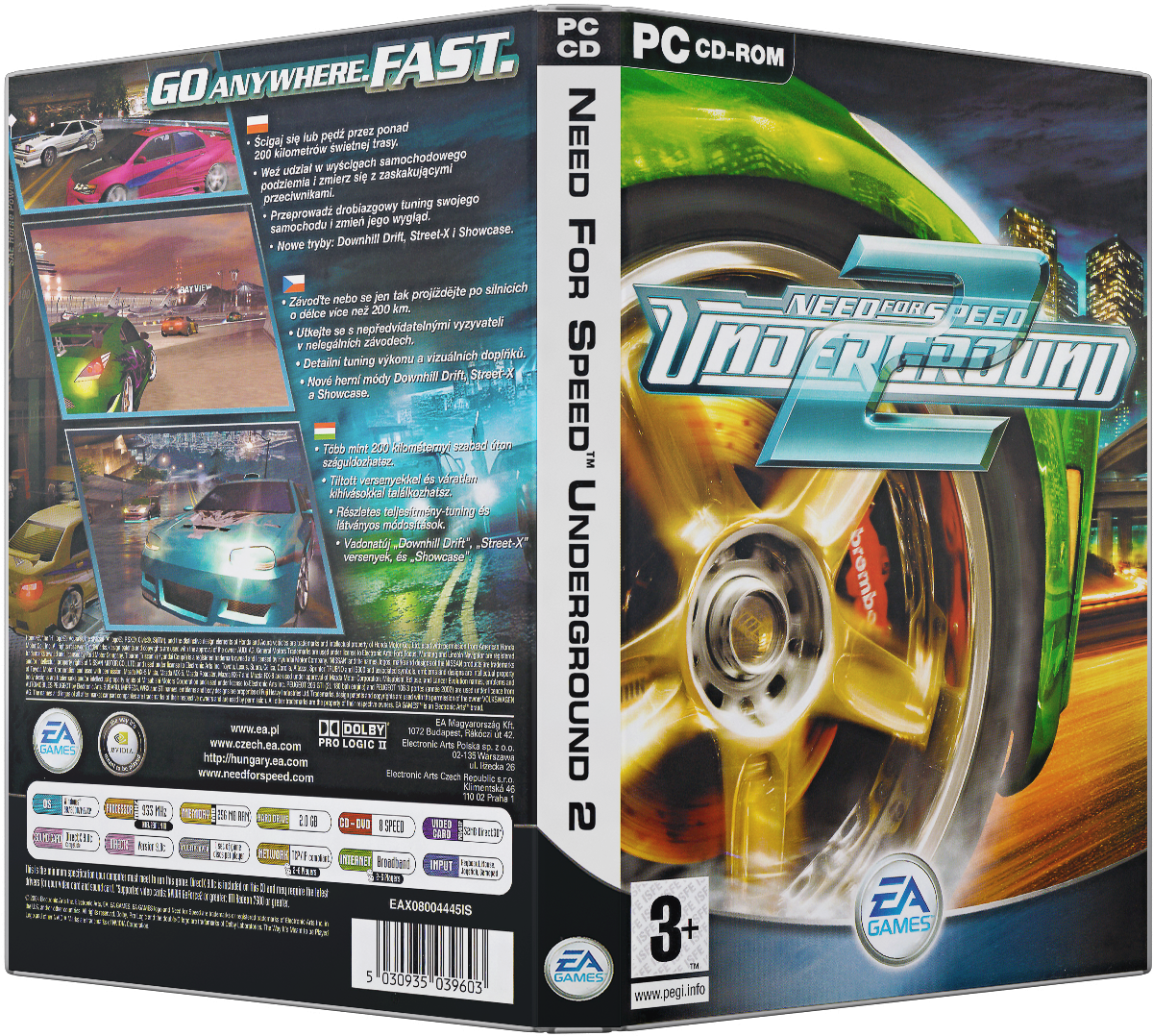 Need For Speed Underground 2 Pc Dvd Cover By Xovyant On Deviantart