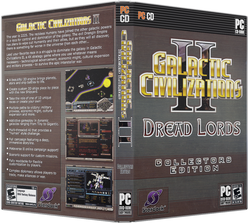 galactic civilizations ii pc dvd cover redux by xovyant on deviantart