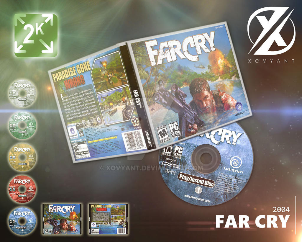 Far Cry 2004 Retail Cd Cover Pc By Xovyant On Deviantart