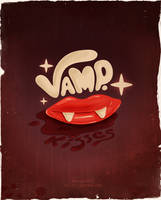 Vamp. Kisses by dimpoart