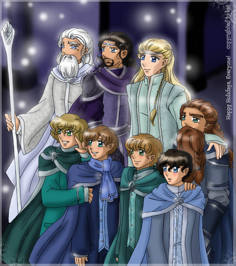 First Snow in Gondor by falling-starchild