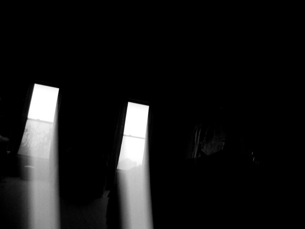 Dark empty room with window - Dark Room And Windows By Jesseginadark Empty Room With Window