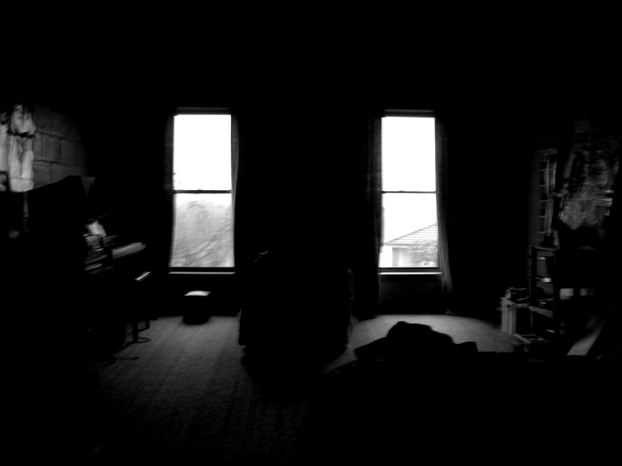 Dark empty room with window - Dark Room And Windows Ii By Jesseginadark Empty Room With Window