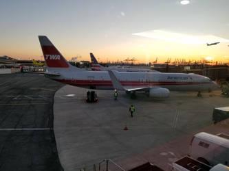 The TWA of American Airlines @ Newark!