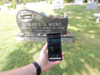 Dudley Moore grave + GPS location