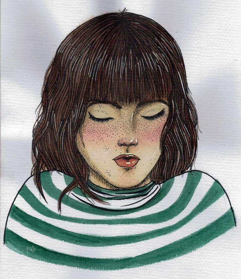 Green stripes by palimedusa
