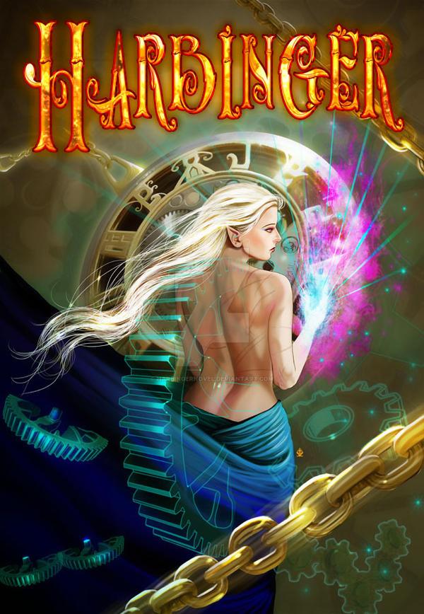 Harbinger Cover Art by Raro666 by HarbingerNovel