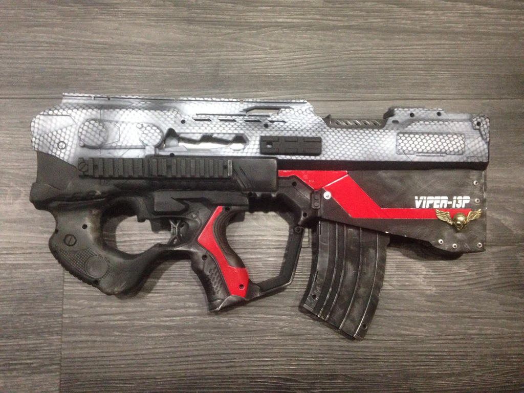 viper 13p bullpup rapidstrike project by xiled878 on deviantart