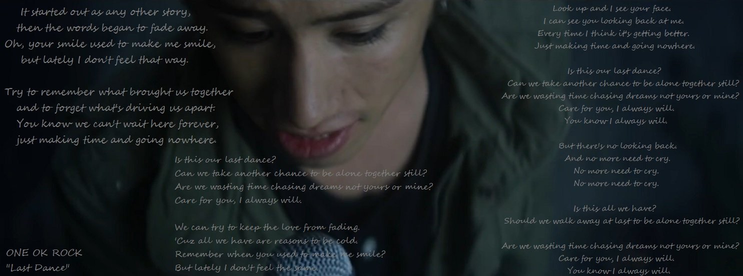 ONE OK ROCK 'Last Dance' lyrics - FB Cover by Bl00dyR0s3-666