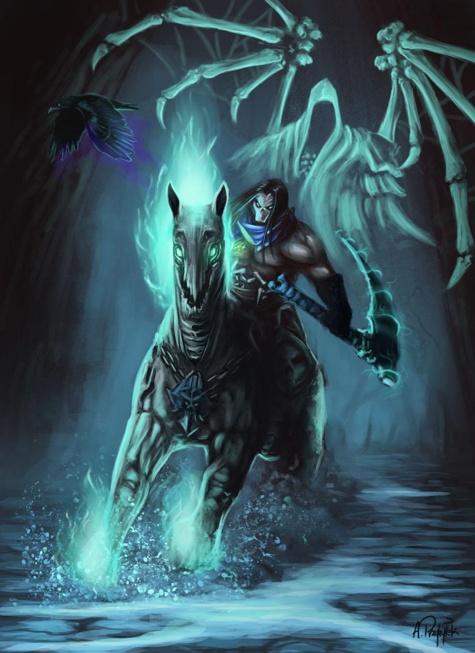 Darksiders Despair Darksiders 2 Fanart by...