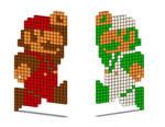 8-Bit Mario and Luigi