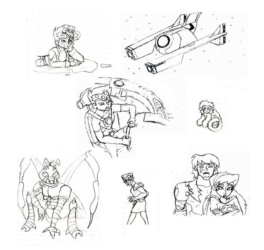 Fan comic concept art by Patchminka