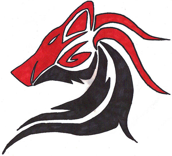 Red Wolf Tribal - LiLz.eu - Tattoo DE