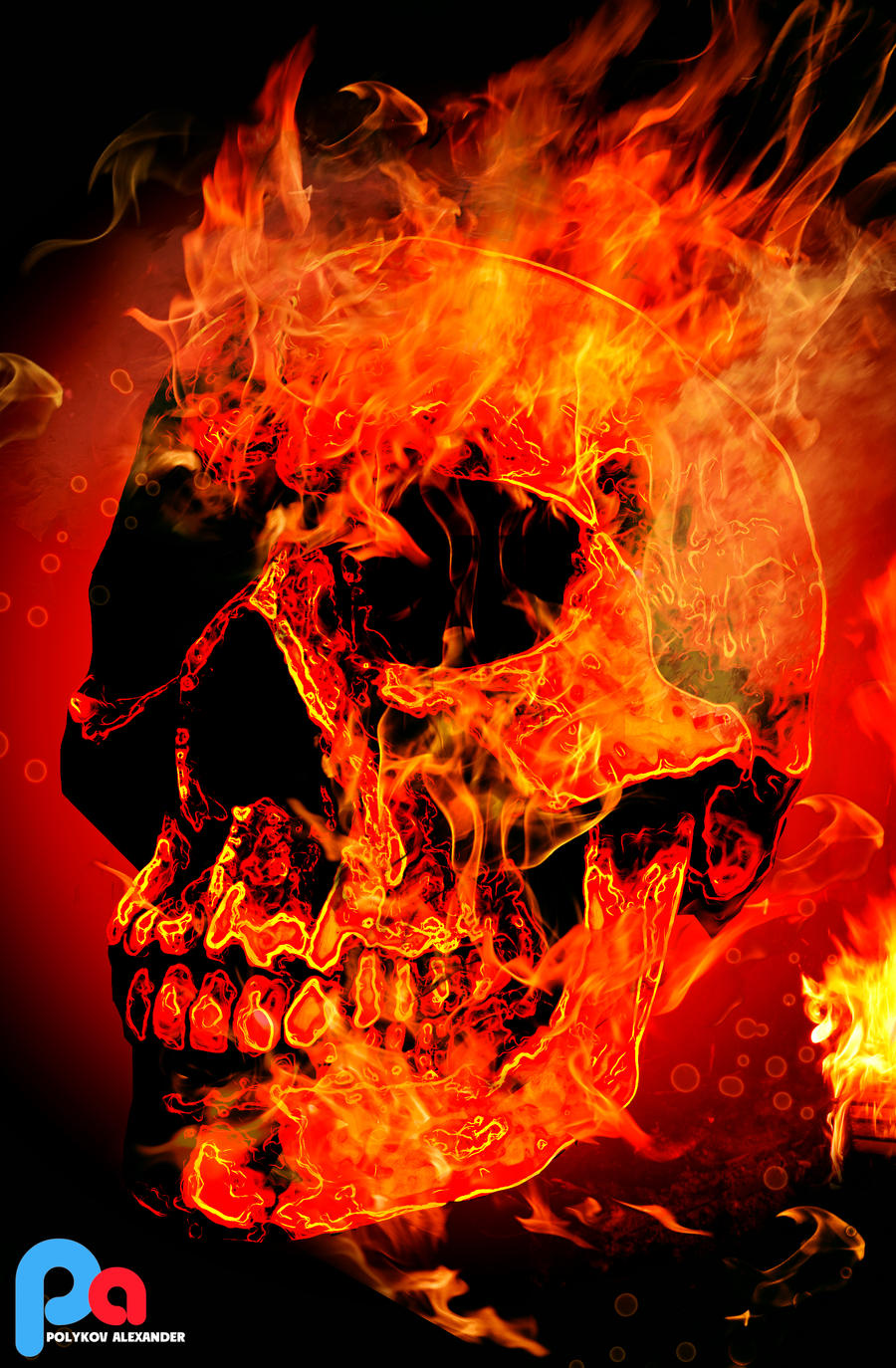 Create a skull on fire in photoshop by volshebnik 4arodey on deviantart create a skull on fire in photoshop by volshebnik 4arodey voltagebd Choice Image