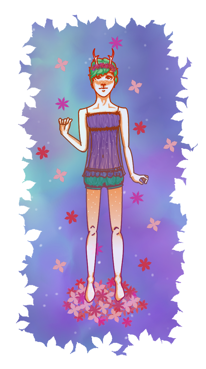 Virgin Androgynous Fawn by GothicAlbinos