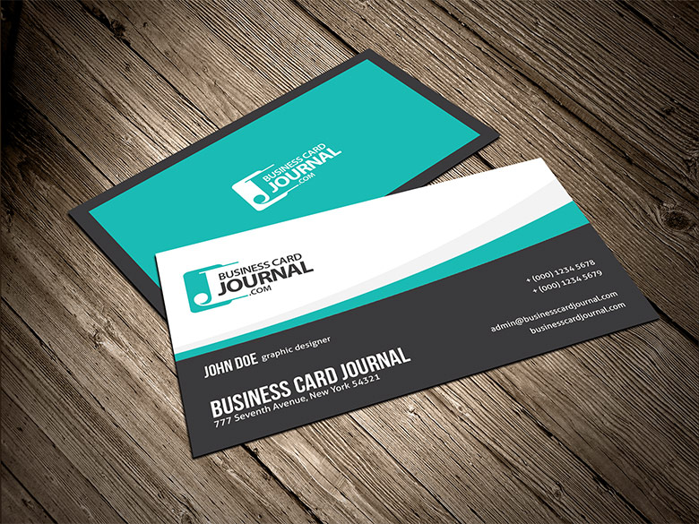 Smooth And Flowy Creative Business Card Template By Mengloong