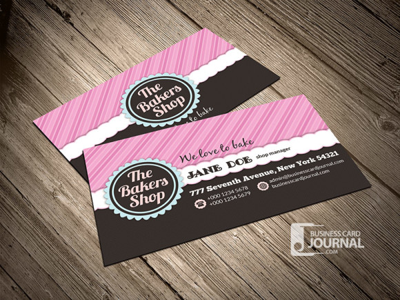 Free bakery shop business card template by mengloong on deviantart free bakery shop business card template by mengloong reheart Gallery