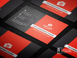 Professional Photography Business Card Template by mengloong