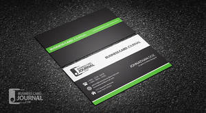 Clean Professional Corporate Business Card Design