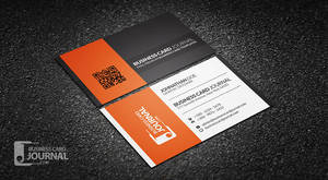 Contrasting Modern Corporate Business Card Templat