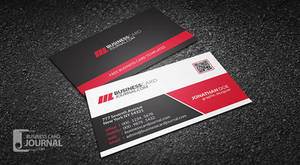 Creative and Modern Corporate Business Card