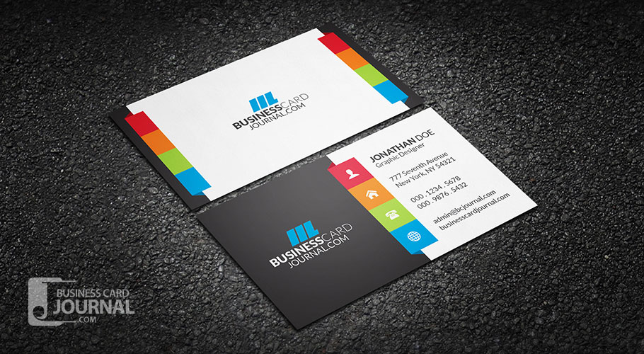 Vibrant multi color business card template by mengloong on deviantart vibrant multi color business card template by mengloong colourmoves