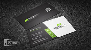 Clean and Stylish Corporate Business Card Template