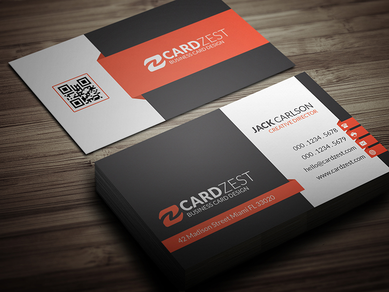 Corporate Professional Business Card Template by mengloong ...