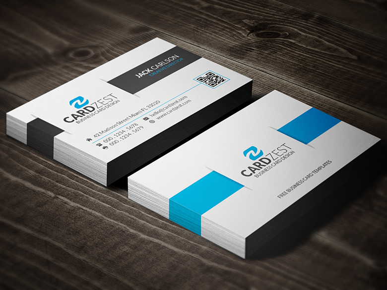 Awesome clean corporate business card template by mengloong on awesome clean corporate business card template by mengloong reheart Choice Image