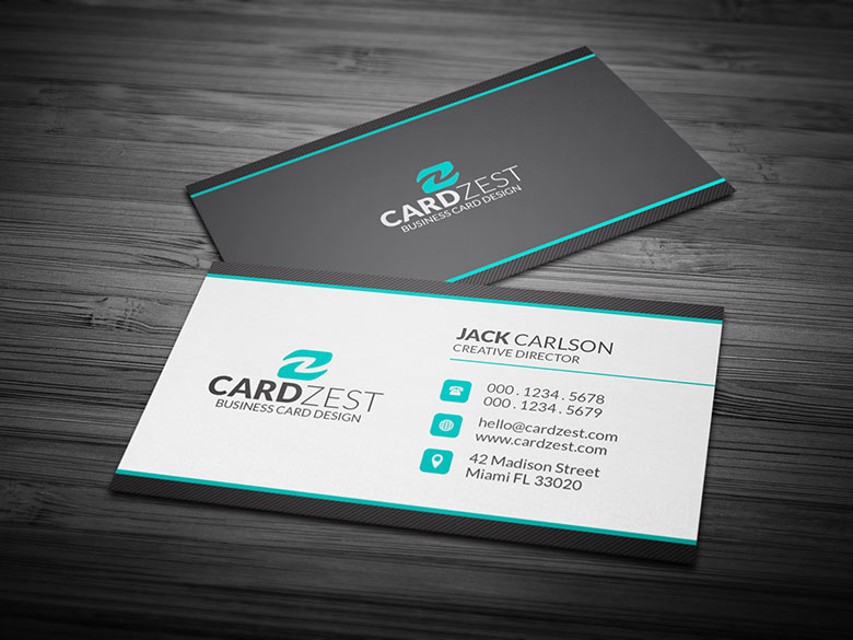 free professional business card template by mengloong on
