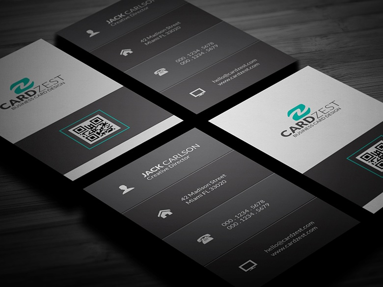 Free clean vertical business card template by mengloong on deviantart free clean vertical business card template by mengloong flashek Gallery